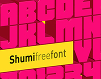 Shumi Free font