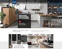 Stosa Türkiye website tasarım çalışması