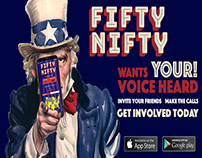 Fifty Nifty App Pitch