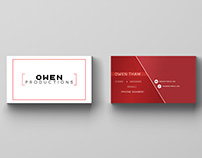 PERSONAL NAME CARD DESIGN