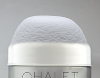 CHALET - concept for thermal water facial cream