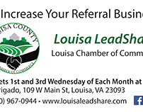 Louisa LeadShare business card