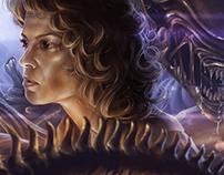 Ripley of Alien - Fan Art Fifteenth