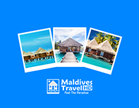 Maldives travel HD logo
