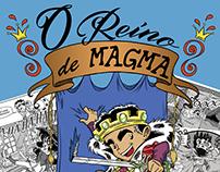 HQ - O Reino de Magma - Etapas de produção