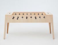 plywood foosball 2.0