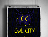Owl City band poster