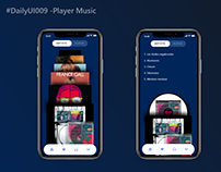 Daily UI : 009 - Music Player