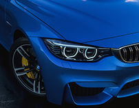 BMW M4- Beauty Shot-Personal Practice