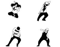 DESIGN: Dance Postures Poster