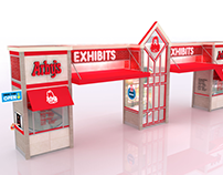 Arby's Worldwide Franchise Convention Entrance Unit