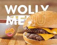 Menu - Wolly Burguer