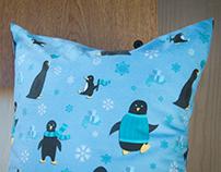 Penguin Seamless Pattern