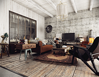 Vintage - Industrial house!
