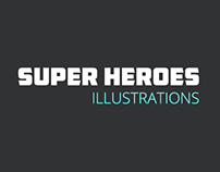 Super Heroes Illustrations