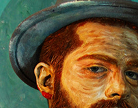BODY ART VIDEO - Van Gogh