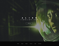 Alien Isolation splash