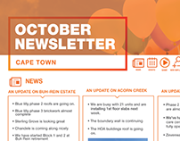 Monthly Company Newsletter