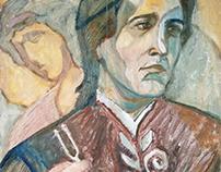 portrait of an orthodox choir master #1