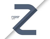 Razor Typeface