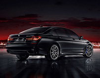 BMW 740 LI — Black Fire Edition