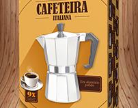 Cafeteira Italiana Caixa