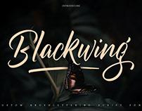 Blackwing Script Font