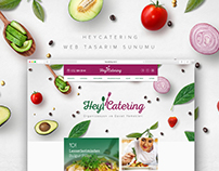 Hey Catering Web Tasarım