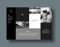 Interface of Sample Portfolio Website