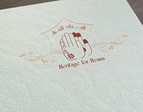 Heritage for Henna : Logo & Branding