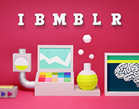 IBMBLR - animated IBM tumblr Headers