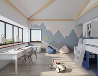 child room scandi