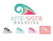 Logo studies for Kite SIsta Magazine