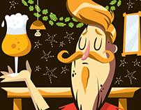 Criação de nome, logo e rótulo para cervejaria do Goiás