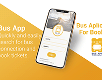 Bus App ui