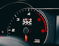 "Branding for ""AV AutoDoc"" car service company."