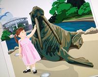 Retro Style Illustrations: see it do it Sunderland