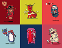 The Monsters 2015. Print