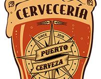 Cartel exterior - Cervecería Puerto Cerveza
