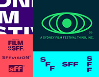 Sydney Film Festival identity 2019