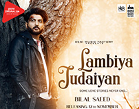 Lambiya Judaiyan - Poster Design (Bilal Saeed)