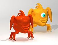 One-eye Creature - 3D Modeling
