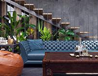 Loft – Modern bachelor flat