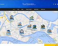 Site d'une agence de voyage
