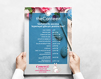 TheCanteen Restaurant Easter Graphic design