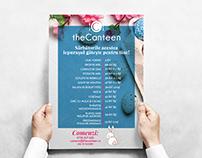 TheCanteen Restaurant Easter Graphic design