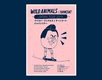 Wild Animals Japan Tour Poster