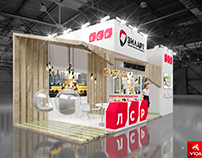 Exhibition stand for LRS