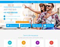 Aosta Life Insurance Website