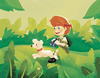 The Adventure in my Backyard - Personalised Book